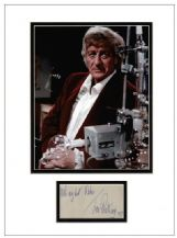 Jon Pertwee Autograph Signed Display